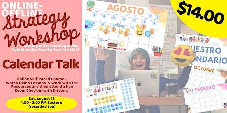 Strategy Workshop - Calendar Talk tickets