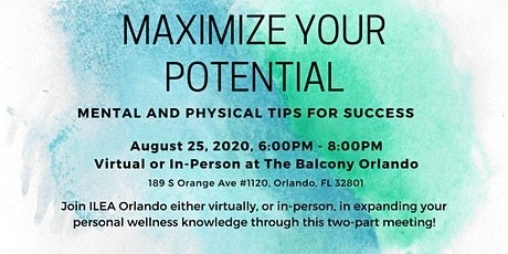 Maximize Your Potential – Mental and Physical Tips for Success tickets