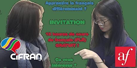 12 heures de cours de français gratuits ! ANL1, Rouen 09-2020 billets