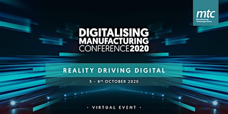 Digitalising Manufacturing Conference 2020 tickets