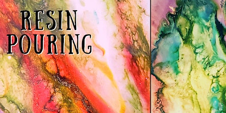 Learn Resin Pouring tickets
