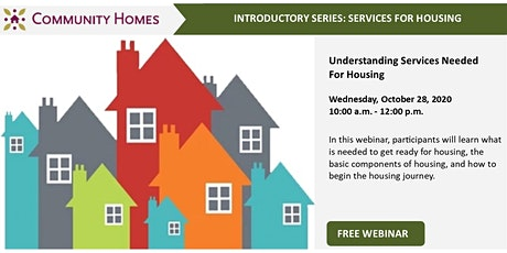 Understanding Services Needed For Housing 10/28/20 tickets