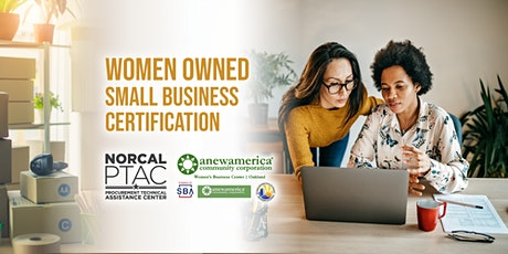 Women Owned Small Business Certification | Webinar tickets