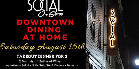 Downtown Dining At Home 8/15/20 tickets