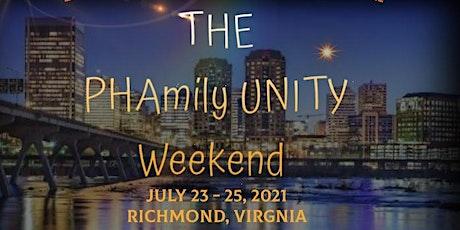 Virginia PHAmily Unity Weekend tickets