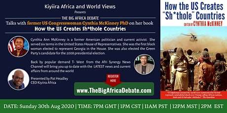 The Big Africa Debate with Cynthia Mckinney and T-West tickets