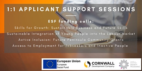 ESF Funding Calls 1:1 Support Sessions tickets