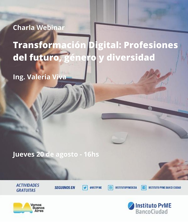 Imagen de Transformación Digital: Profesiones del futuro, género y diversidad