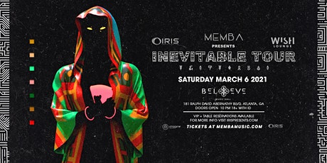 Memba - Inevitable Tour w/ Gilligan Moss |Wish Lounge @ IRIS| Sat Mar 6 tickets