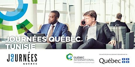 Journées Québec Tunisie billets