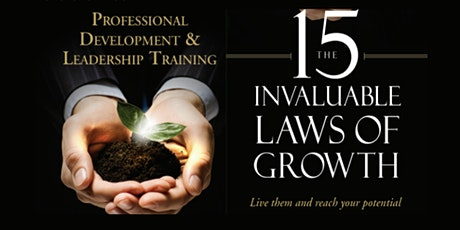 15 Invaluable Laws of Growth Mastermind Series - 4 Part tickets