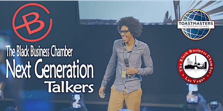 Black Business Chamber- Next Generations Talkers Toastmaster tickets