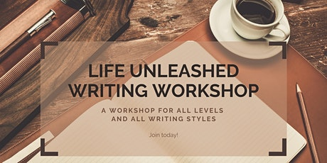 Life Unleashed Writing Workshop: Weeks 1-4 tickets