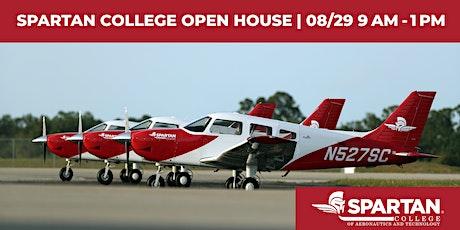 Spartan College - Tulsa Flight Open House 08-29-20 tickets