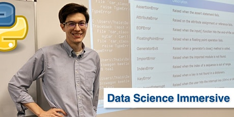 Python for Data Science Immersive • 1 Week Python Bootcamp tickets