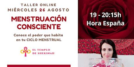 MENSTRUACIÓN CONSCIENTE: Conoce el Poder que habita en tu Ciclo Menstrual tickets