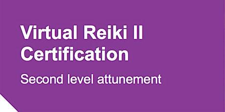 Virtual Reiki II: Second Level Attunement tickets