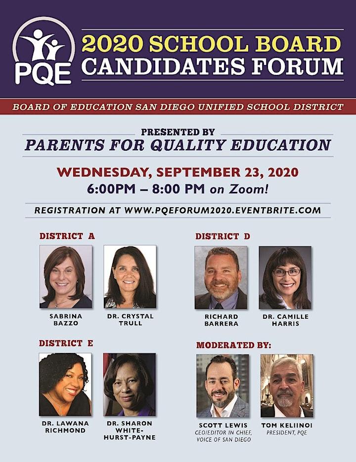 2020 School Board Candidates Forum image