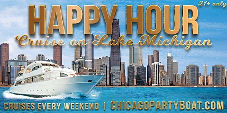 Happy Hour Cruise on Lake Michigan on September 11th tickets