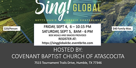 SING! Global Conference tickets