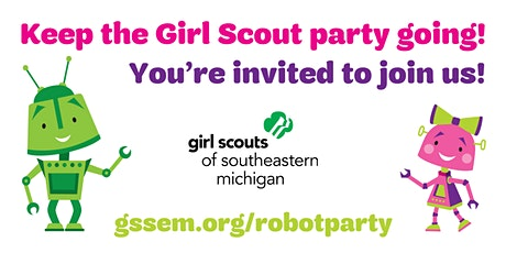 Join us for our Robot Building Party! tickets