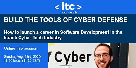 BUILD THE TOOLS OF CYBER DEFENSE -  Software Development in Cyber Tech tickets