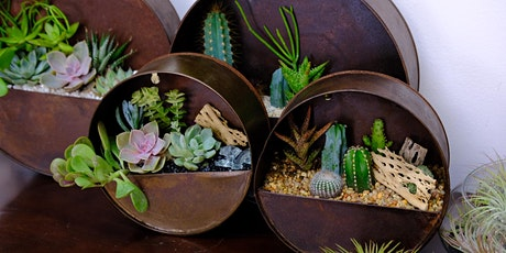 Rusty Round Wall Arrangement Virtual Planting Party tickets