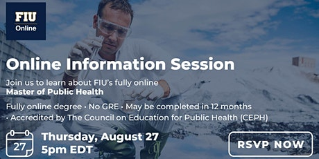 FIU Online Master of Public Health - Information Session tickets
