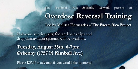 Overdose Reversal Training tickets