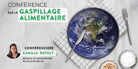 Conférence sur le gaspillage alimentaire avec Camille Defoly - 21 octobre billets