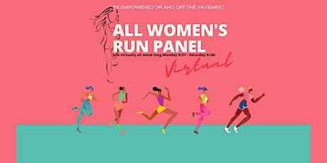 All Women's Run Panel tickets