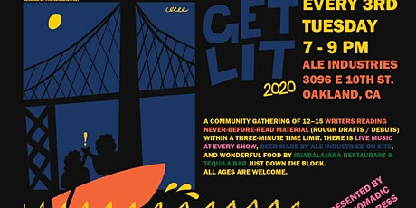 Virtual Get Lit #63 (Music by: KataLuna of LoCura) tickets