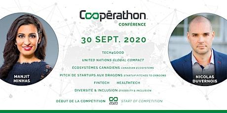 Coopérathon Conférence 2020 billets