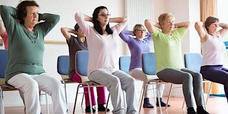 Deep Stretch Chair Yoga tickets