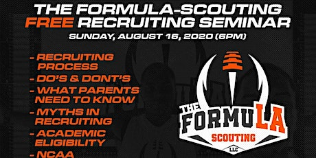 The FormuLA-Scouting FREE Recruiting Seminar tickets