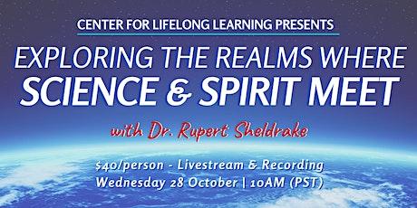 Dr. Rupert Sheldrake: A Live Q&A Exploring Science and Spirit tickets