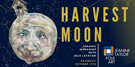Harvest Moon Ceramic Workshop with Julie Latayan tickets