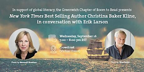Christina Baker Kline in conversation with Erik Larson tickets