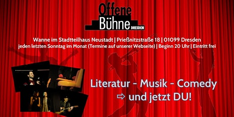 Offene Bühne Dresden Tickets