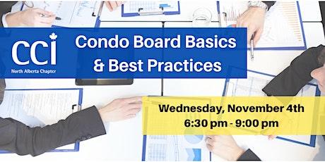 Condo Board Basics & Best Practices (CCI Webinar)