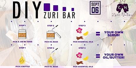 DIY Zuri Bar tickets