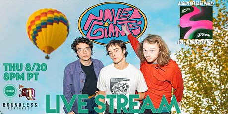 """NVCS presents NAKED GIANTS (live stream """"The Shadow"""" album release party) tickets"""