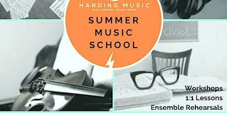 Harding Music Summer Music School 2020 [24/25/26 Aug] tickets