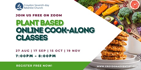 Croydon Plant Based Online Cooking Classes tickets