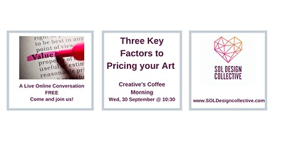 Online Creative's Coffee Morning:  PRICING YOUR WORK