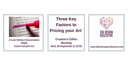 Online Creative's Coffee Morning:  PRICING YOUR WORK tickets