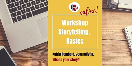 Online Storytelling Basics: What's your story? Tickets
