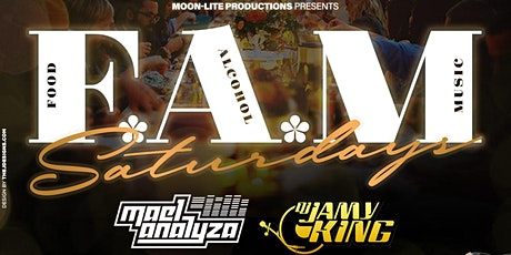 F.A.M Saturdays [Food*Alcohol*Music] billets