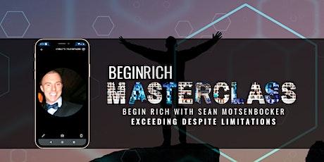 Exceeding Despite Limitations Masterclass with Sean Motsenbocker tickets