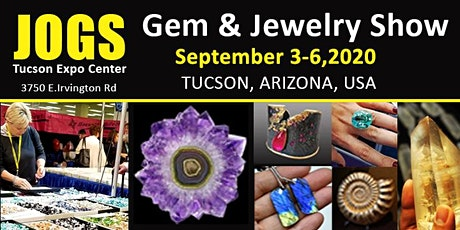 Tucson Gem and Jewelry Fall Show - SEPTEMBER 3-6, 2020 tickets